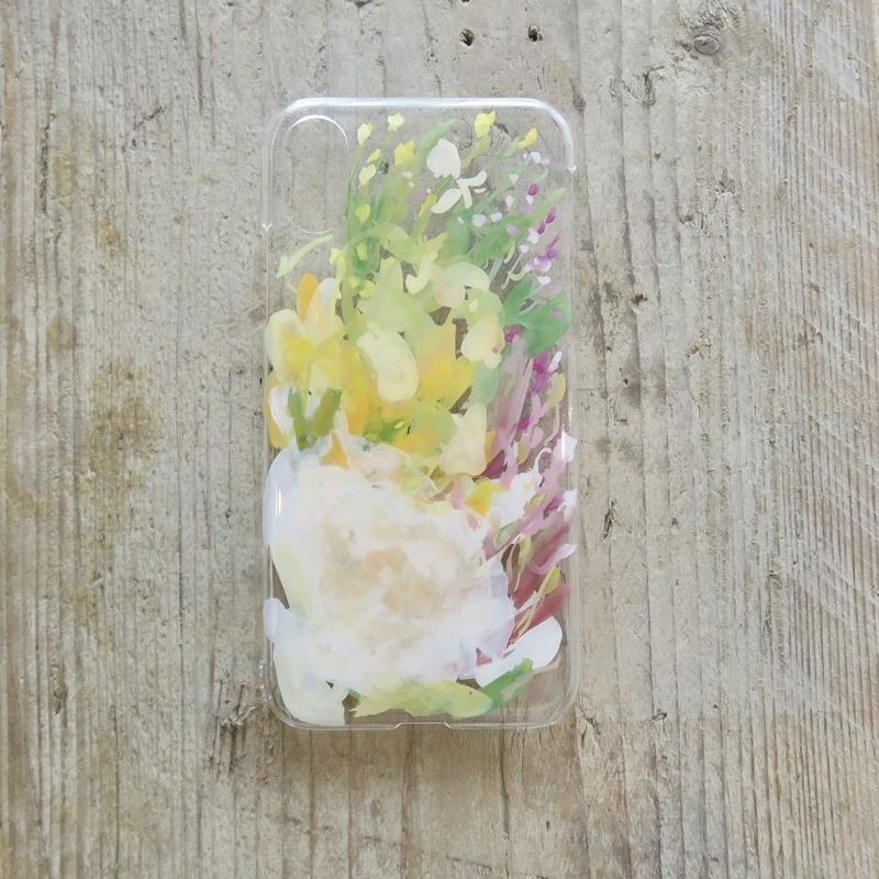 【iPhone X ケース】MURKOS×LUVONICAL flower works 006