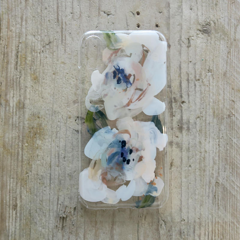 【iPhone X ケース】 MURKOS×LUVONICAL flower works 003