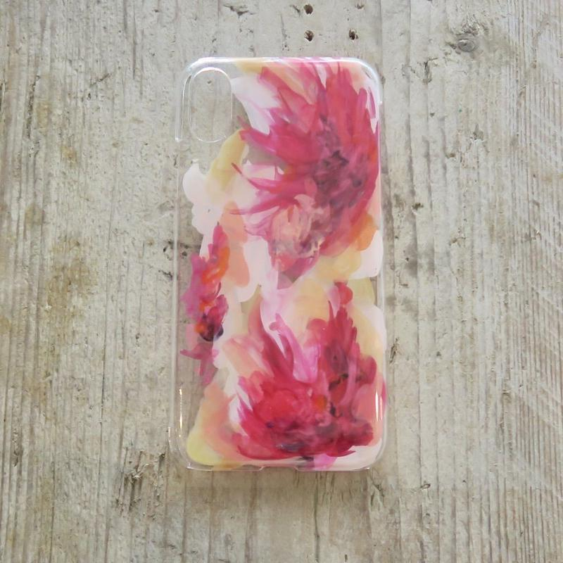 【iPhone X ケース】 MURKOS×LUVONICAL flower works 002