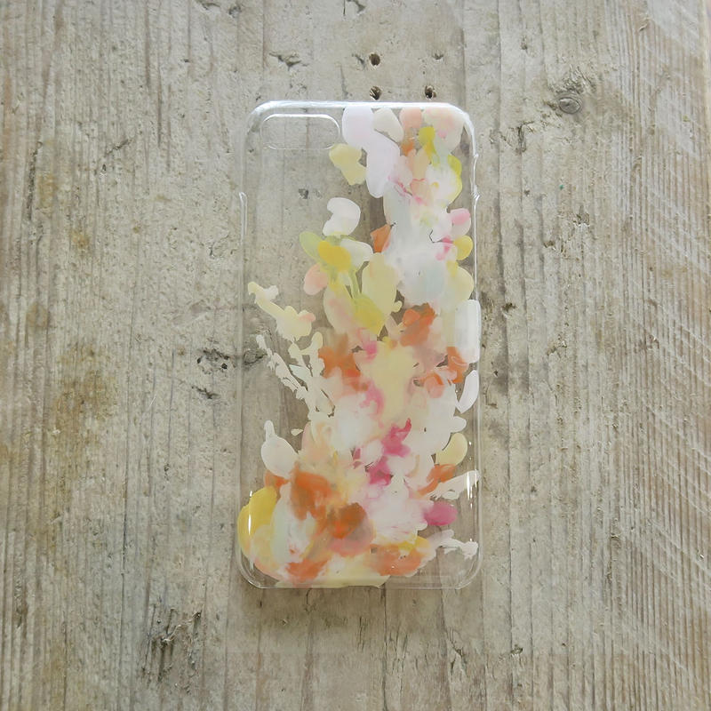 【iPhone8/7 ケース】 MURKOS×LUVONICAL flower works 005