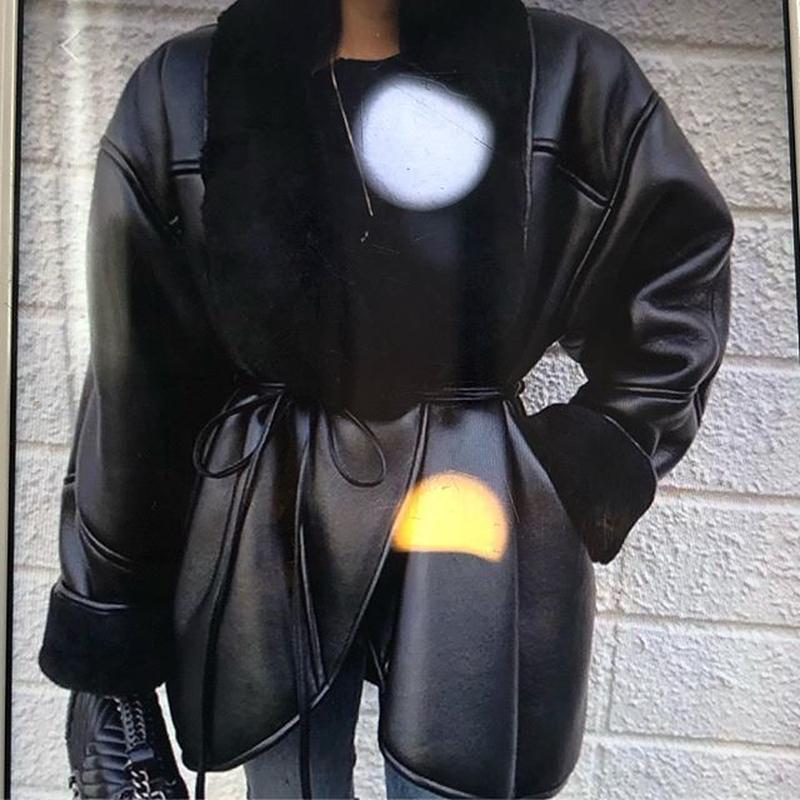 合皮ジャケット