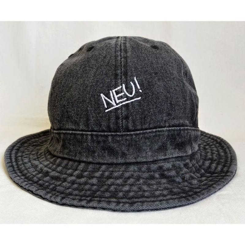 """E-yang""  NEU! / ""us army"" denim hat / Vintage black  -S/M & L/XL size-(emh.neu.b)"