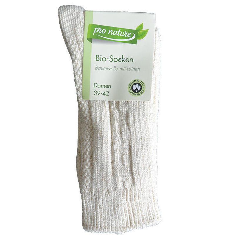 "bio socks ""aran pattern"" men's [39-42] (ga001am)"