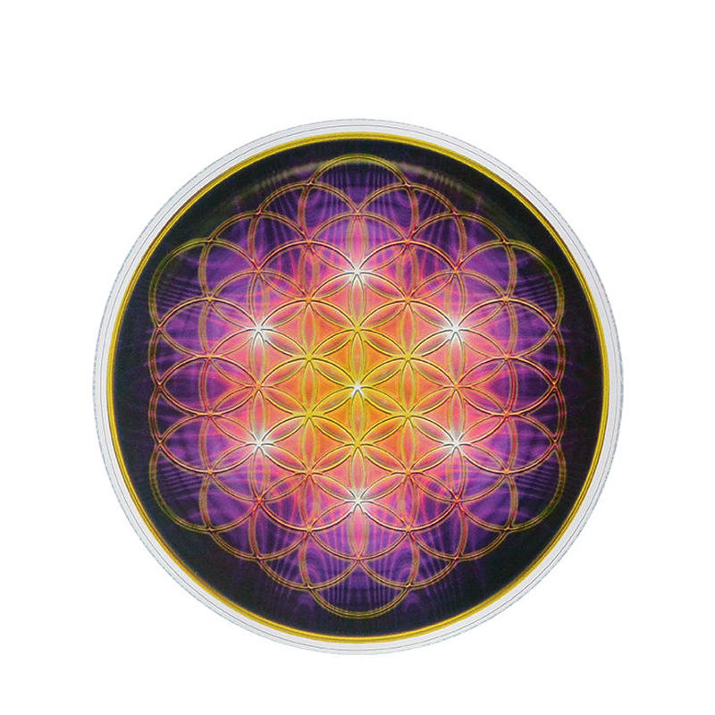 "【 starshine arts 】zachary true hammack ""flower of life"" sticker (ss-20)"