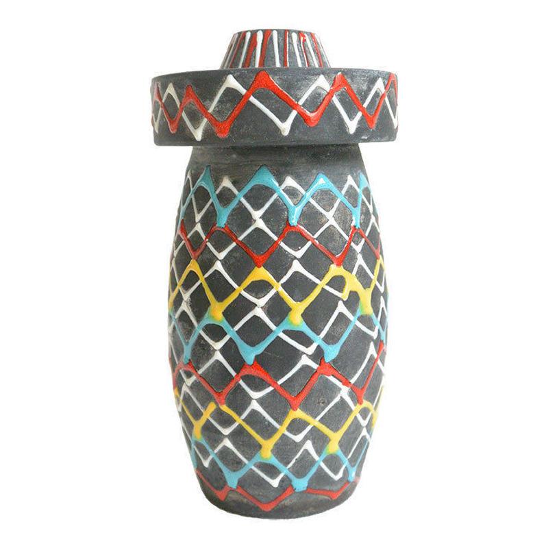 antique san marino Marmaca flower vase (m029)