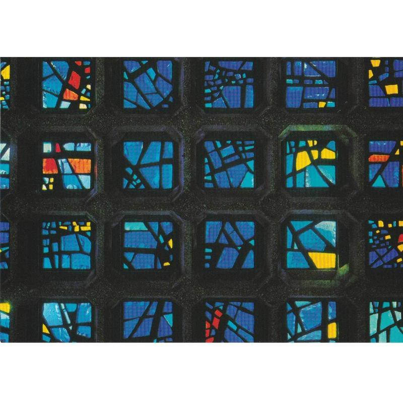 """kaiser wilhelm church """"mosaic"""" postcard b (gpc001b)"""