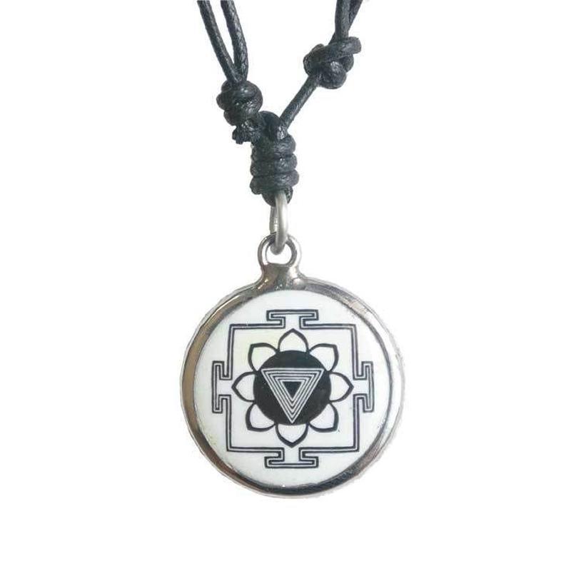 kali yantra necklace (san004)