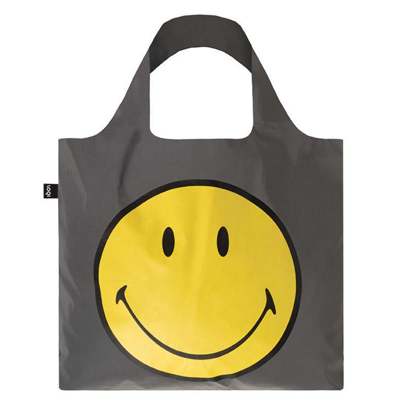 """LOQI "" reflective smiley bag (RE.SM)"