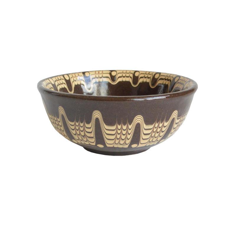 """""""troyan"""" bowl (s) -black-  bulgaria hand made/ monotone (tb-sb)"""
