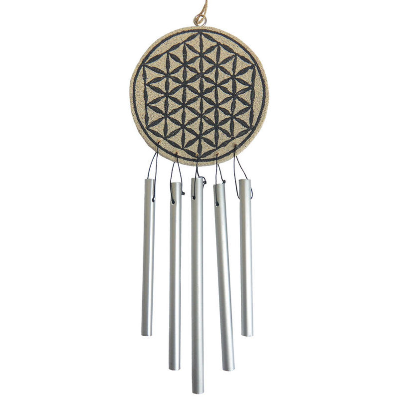 """flower of life""  windchime ornament   (so017)"