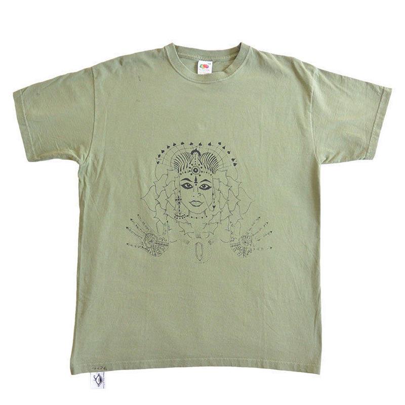 Θhpion Esoteric Tattoo T-shirts (ga004b_olv)