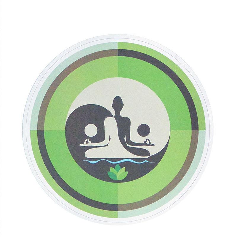 """【 starshine arts 】""""green yin yang"""" sticker (ss-11)"""