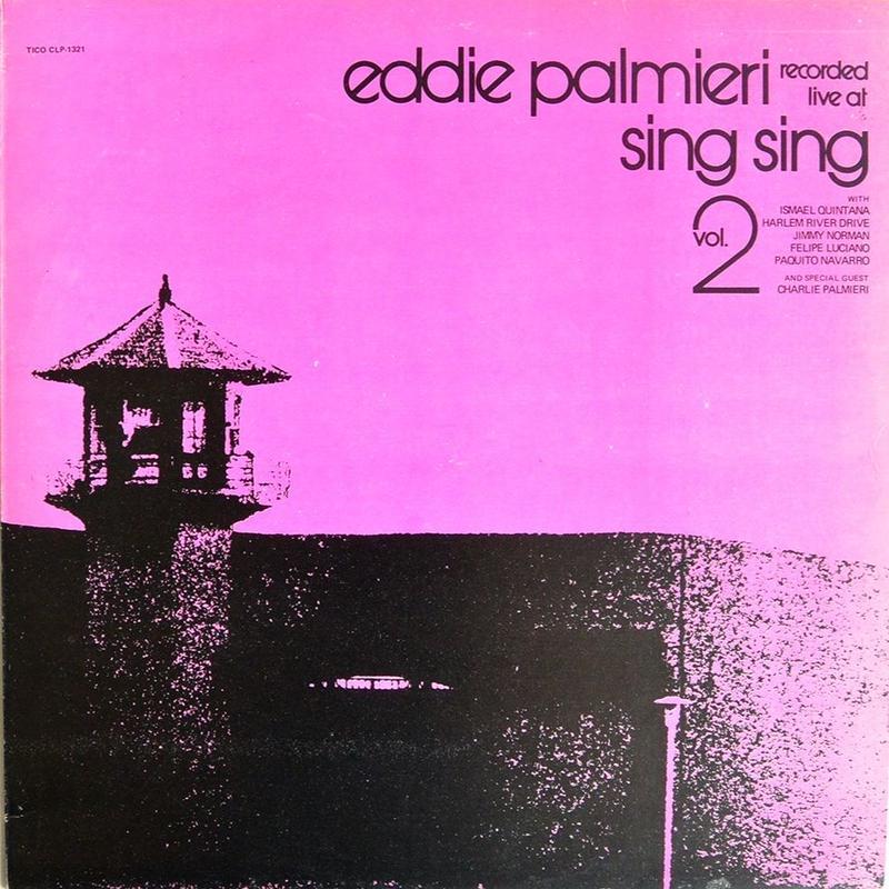 Eddie Palmieri  /  Recorded Live At Sing Sing Volume.2  (USED LP)