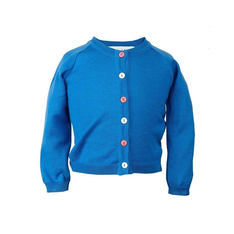 classic cardigan/royal blue/1-4y
