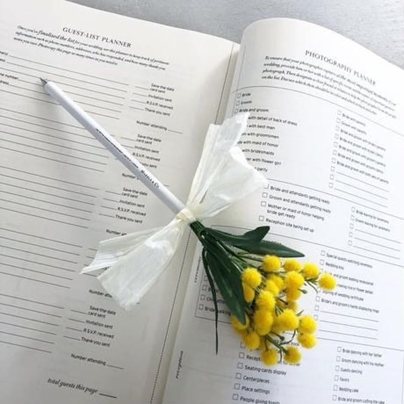 MARBLE & Co. お花のボールペン ミモザ