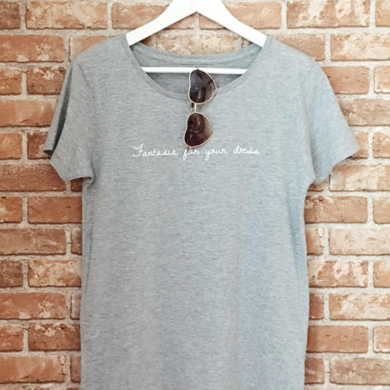 LYS -fantasia for your dress- Tシャツ  [grey]