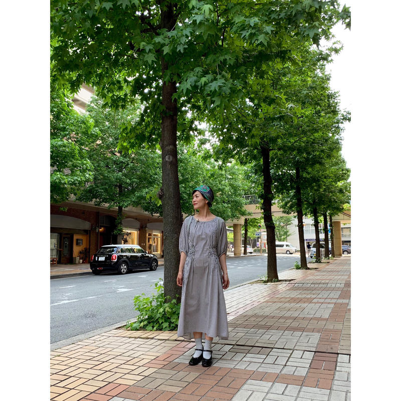 【期間限定・受注生産】LYS -fantasia for your dress- Marie Dress stripe [black]