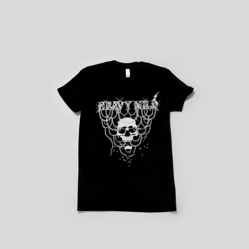 """ heavy mild "" black t-shirt by yusuke tanaka (caviar)"