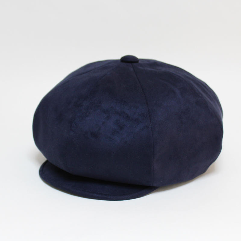 fake suede big casquette (man)navy