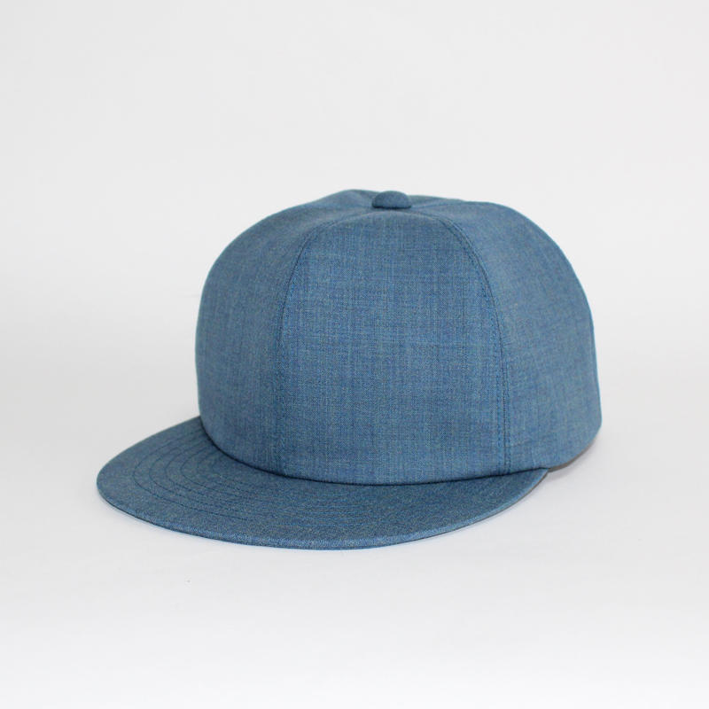 soft 6 panel cap (man) cobalt blue