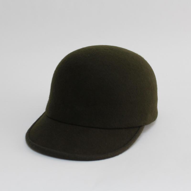 wool cap (man&woman) olive