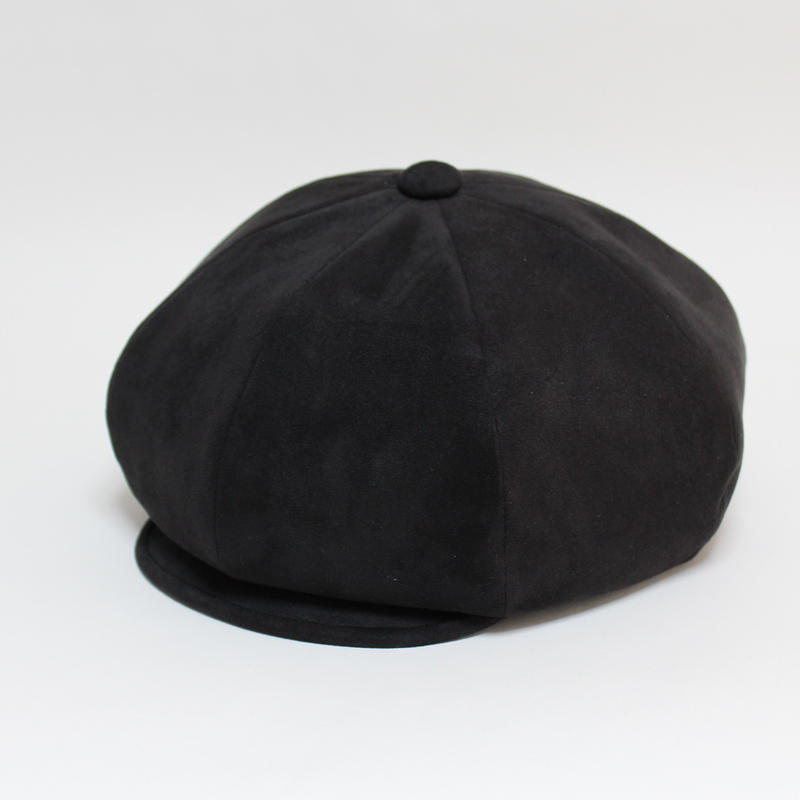 fake suede big casquette (man)black