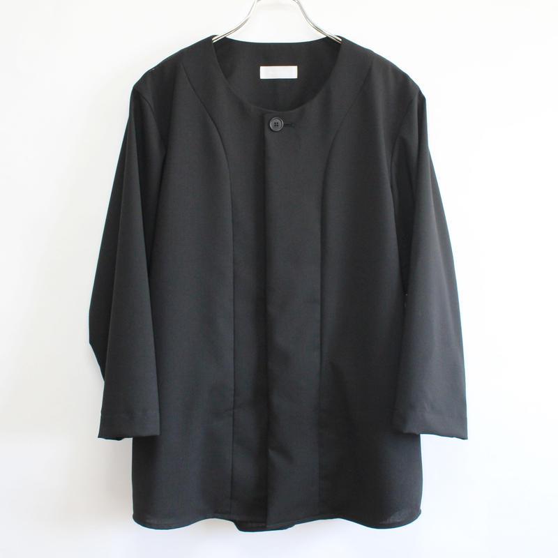 base ball shirt (man) black