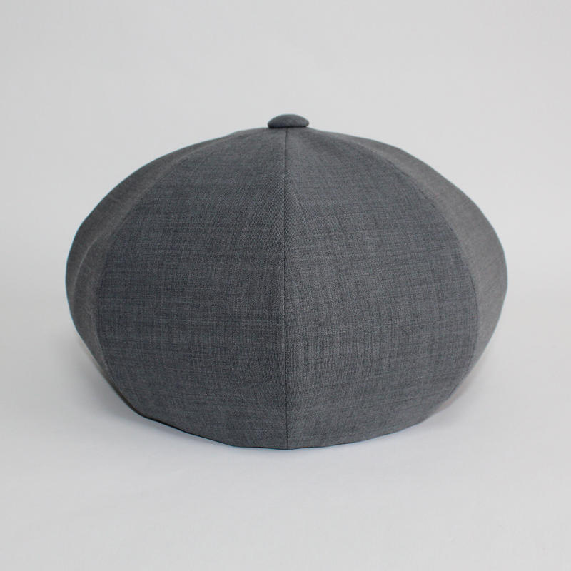 suit big beret (man) gray