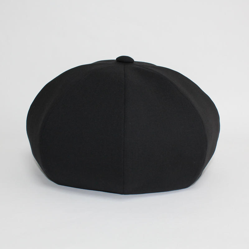 suit big beret (man) black