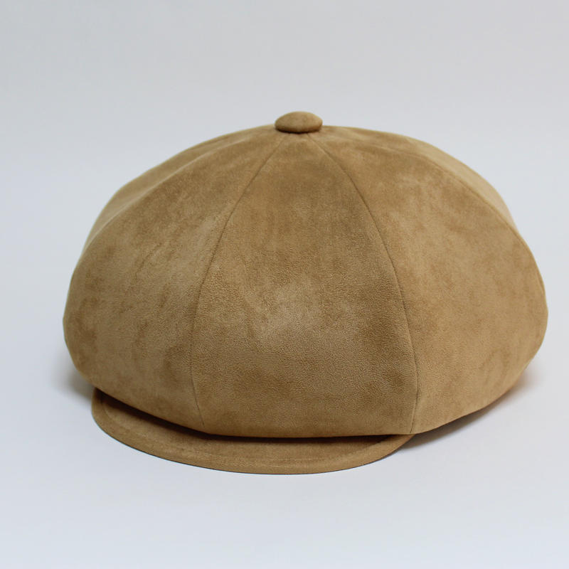 fake suede big casquette (man)beige