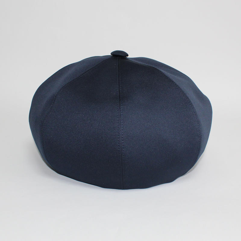 grosgrain big beret (man) navy
