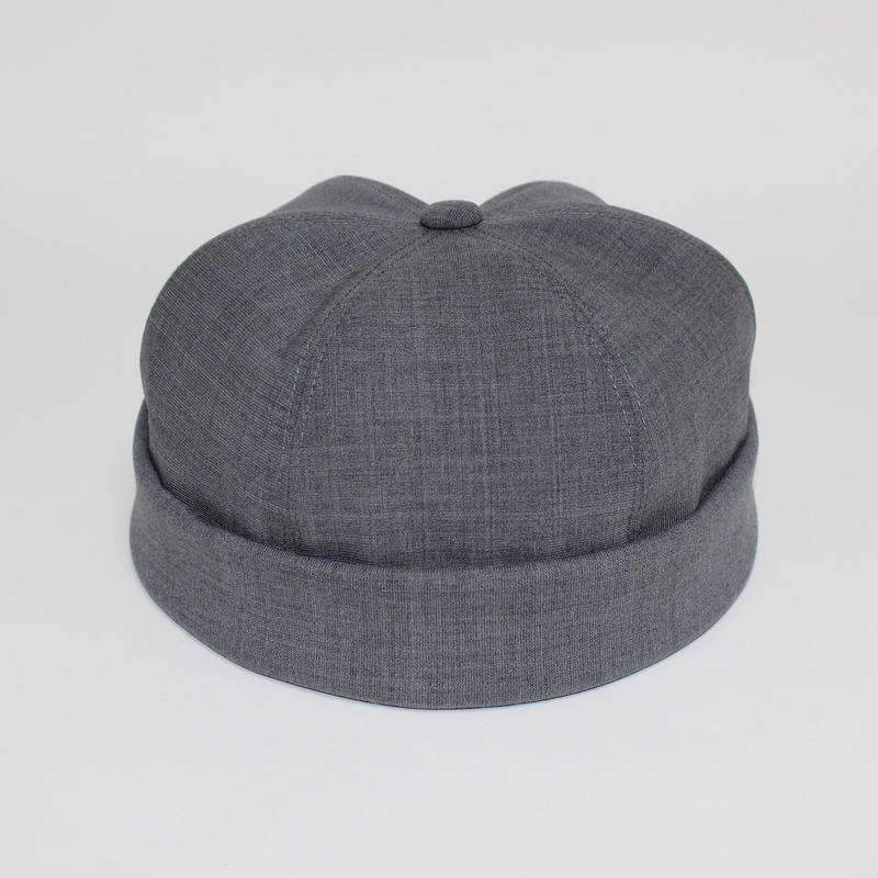 roll up cap (man ) gray