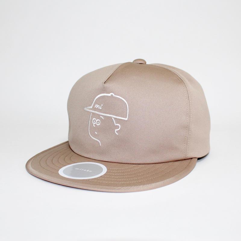 【Seiji Matsumoto × mitake】 collaboration baseball cap ( man )beige
