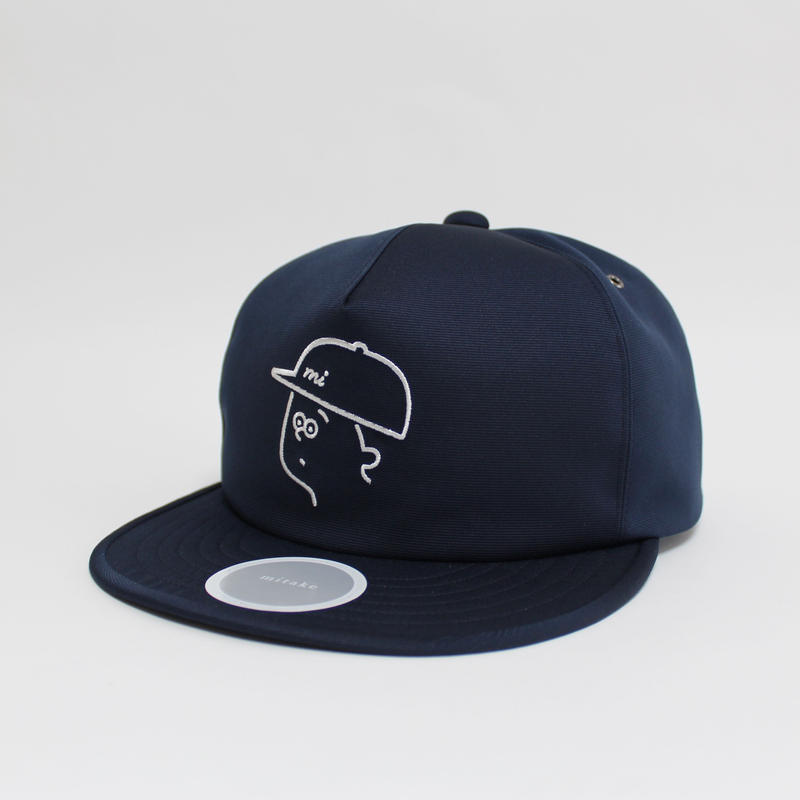 【Seiji Matsumoto × mitake】 collaboration baseball cap ( man )navy