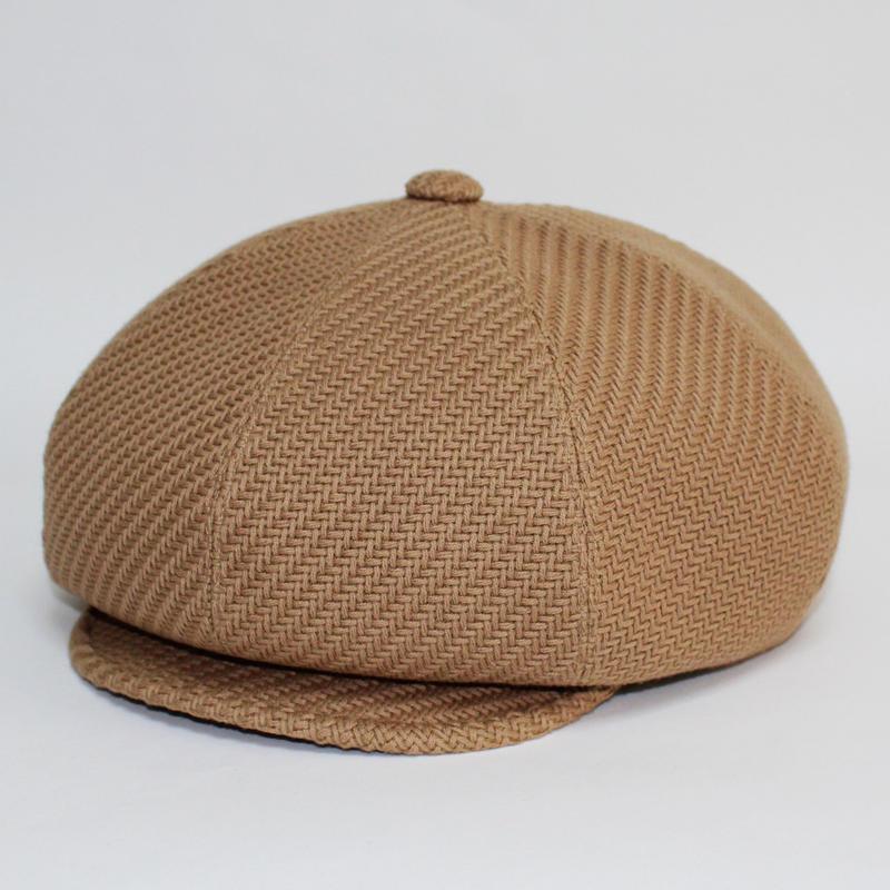 bascket big casquette (man)beige