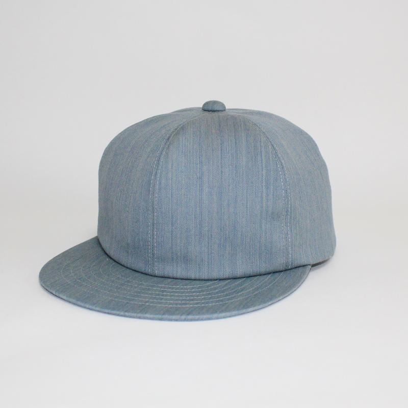 soft 6 panel cap (man) light blue