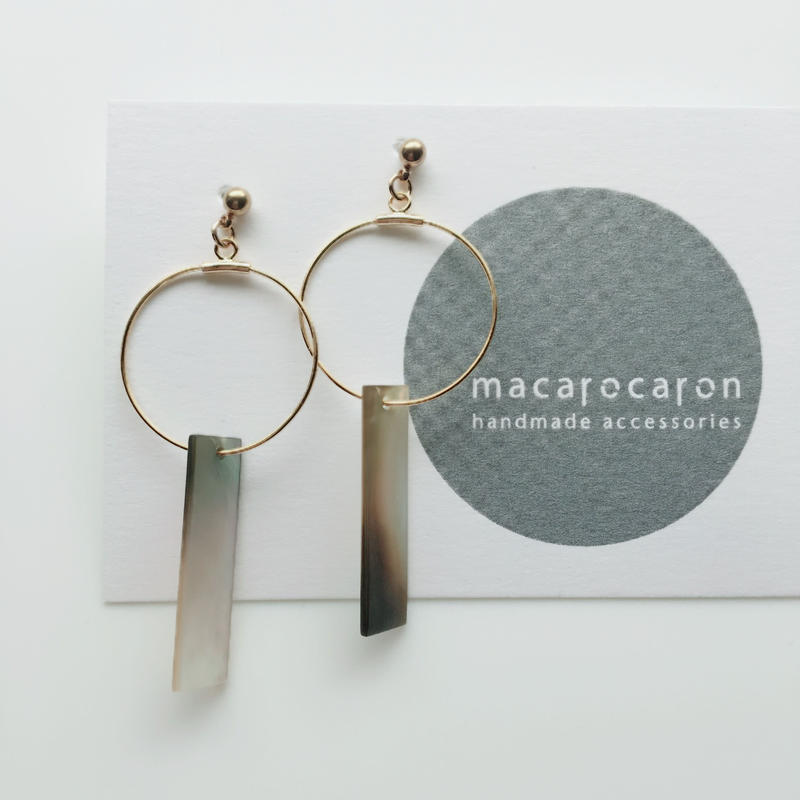 macarocaron #522 / Geometric hoops