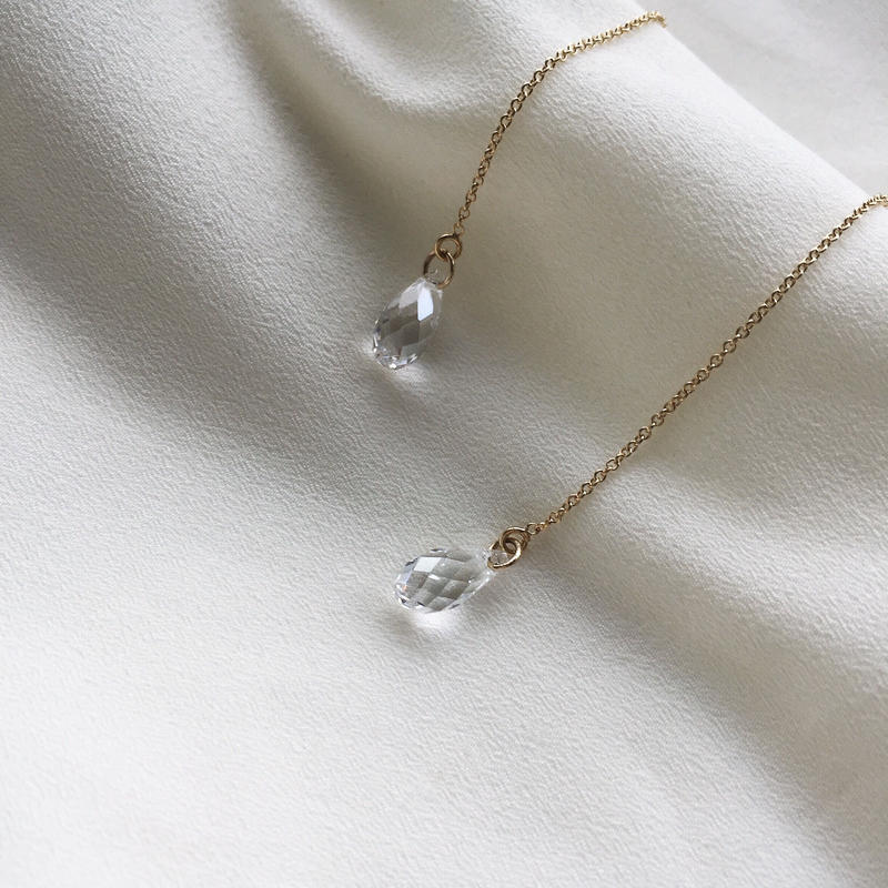 再販【数量限定】14kgf American pierce /Crystal silver shade《Pのみ》
