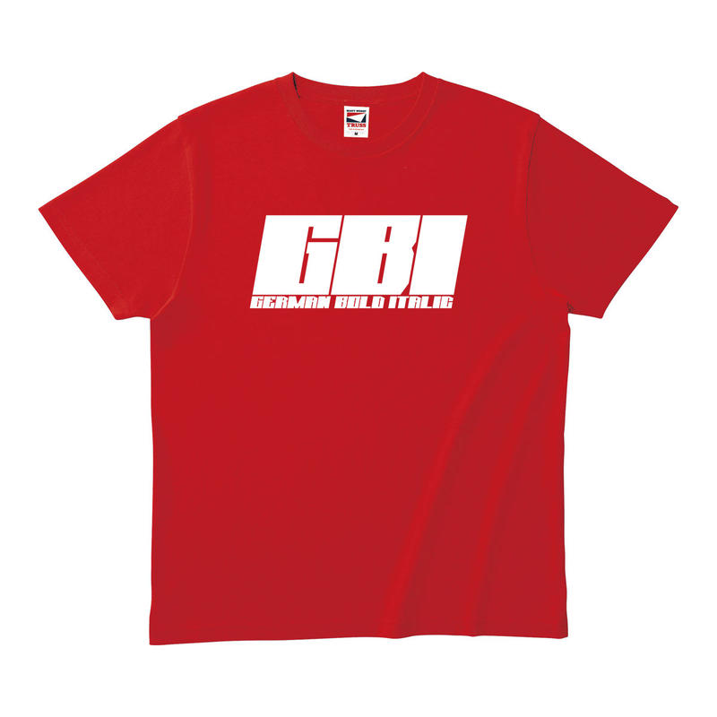 GBI T-SHIRT RED