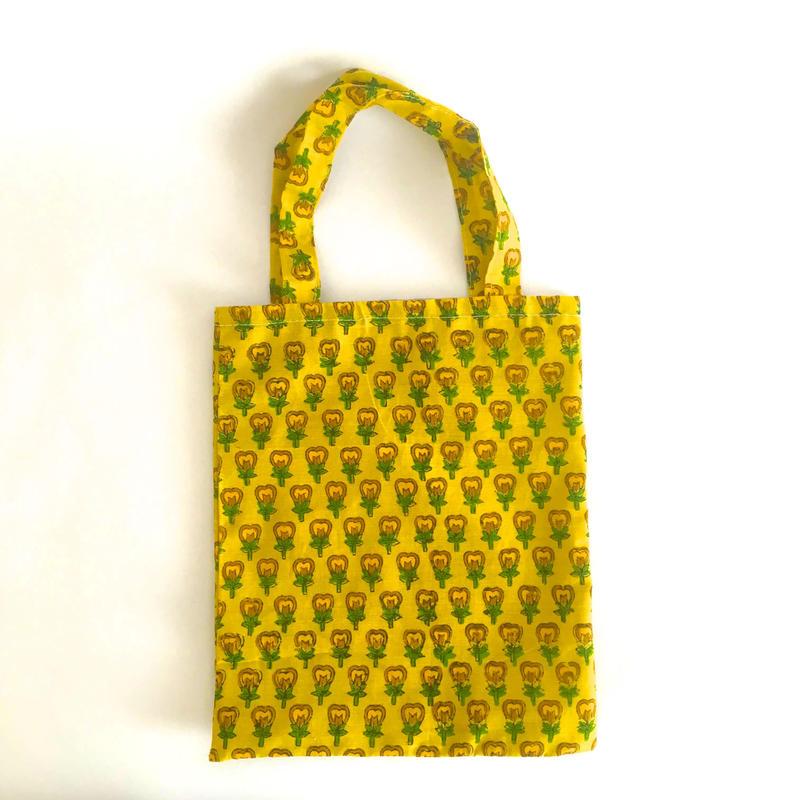 துணி トゥニパイS 黄色花