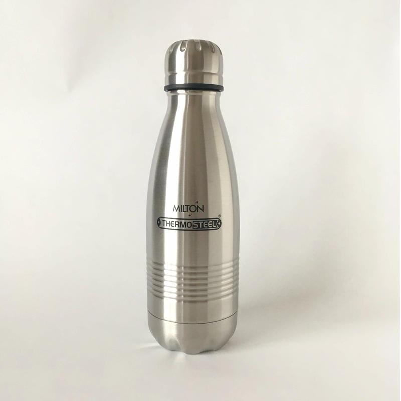 MILTON 水筒 350ml silver