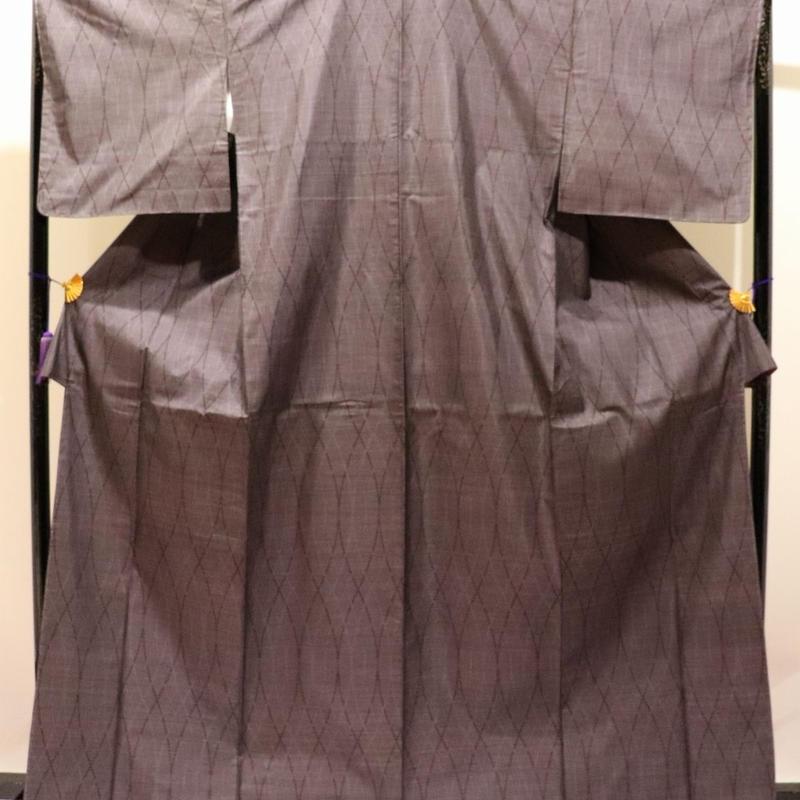 【本場大島紬】久野織物/証紙付(644)