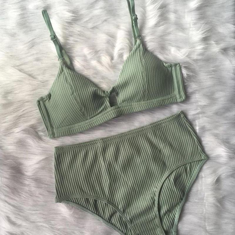 cotton green bralette high set up