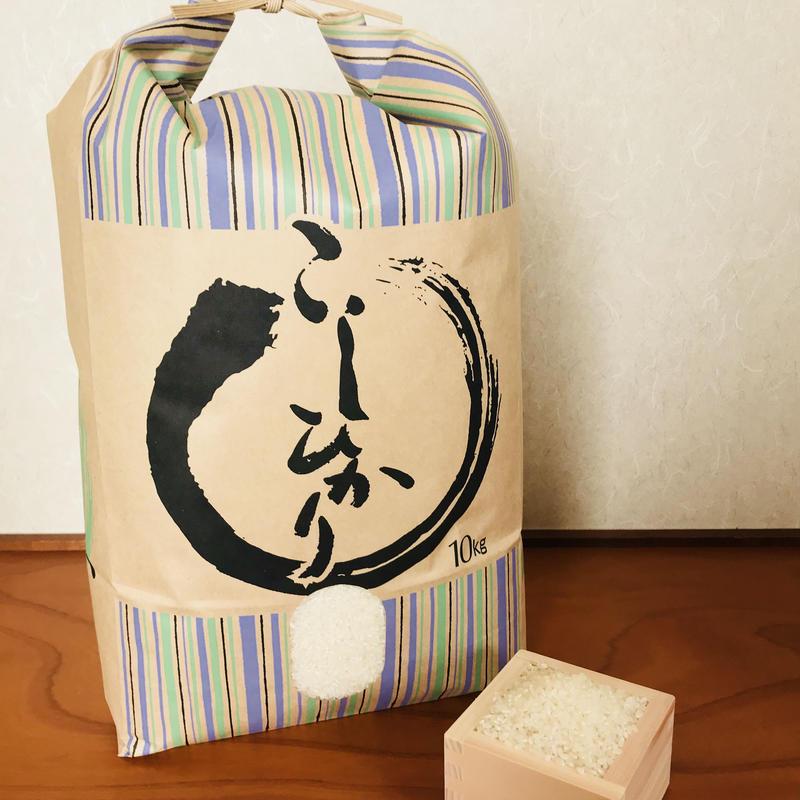 平成30年度静岡県産 新米 精米コシヒカリ (無農薬栽培)10㎏