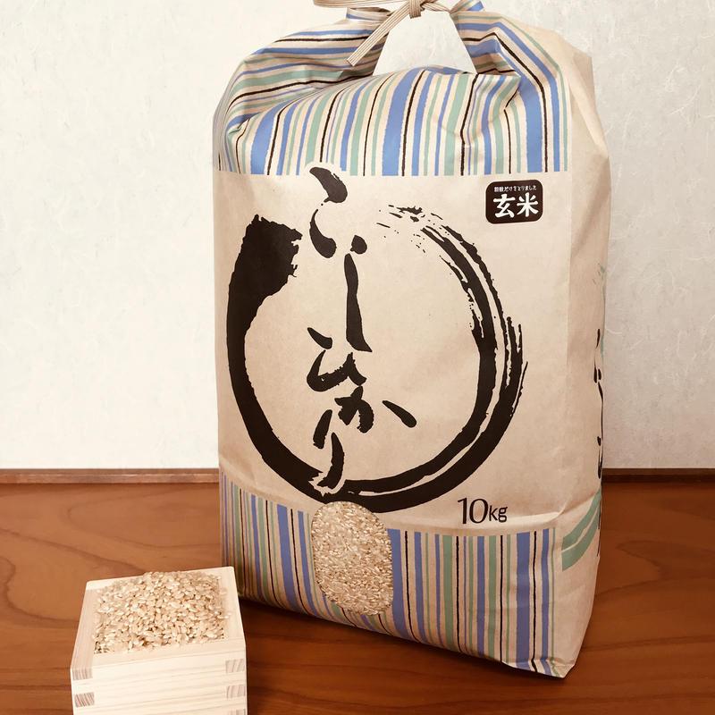 平成30年度静岡県産 新米 玄米コシヒカリ (無農薬栽培)10㎏