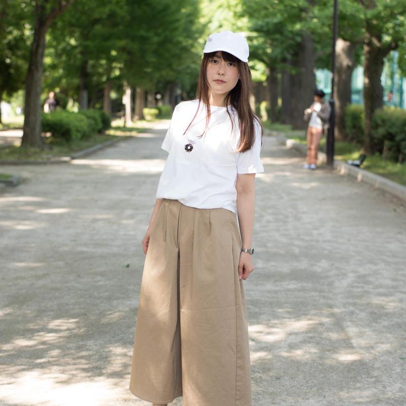 マジカルドーナツTシャツ(ポッケ付・サマーホワイト)