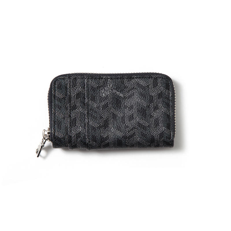 MONOGRAM COIN CASE