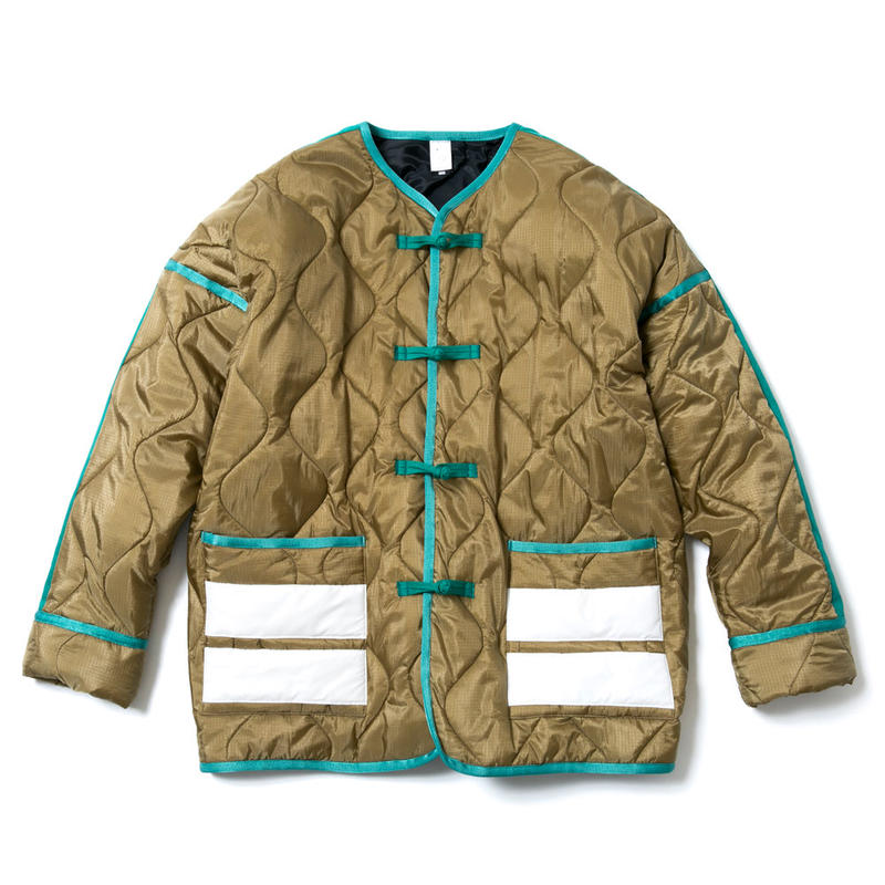 "TRADITIONAL""HIKESHI""QUILTED JACKET"