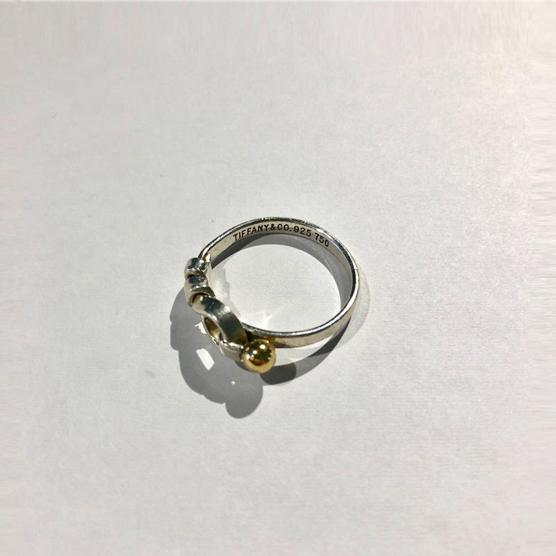 Tiffany / Hook & Eye ring silver 1803037
