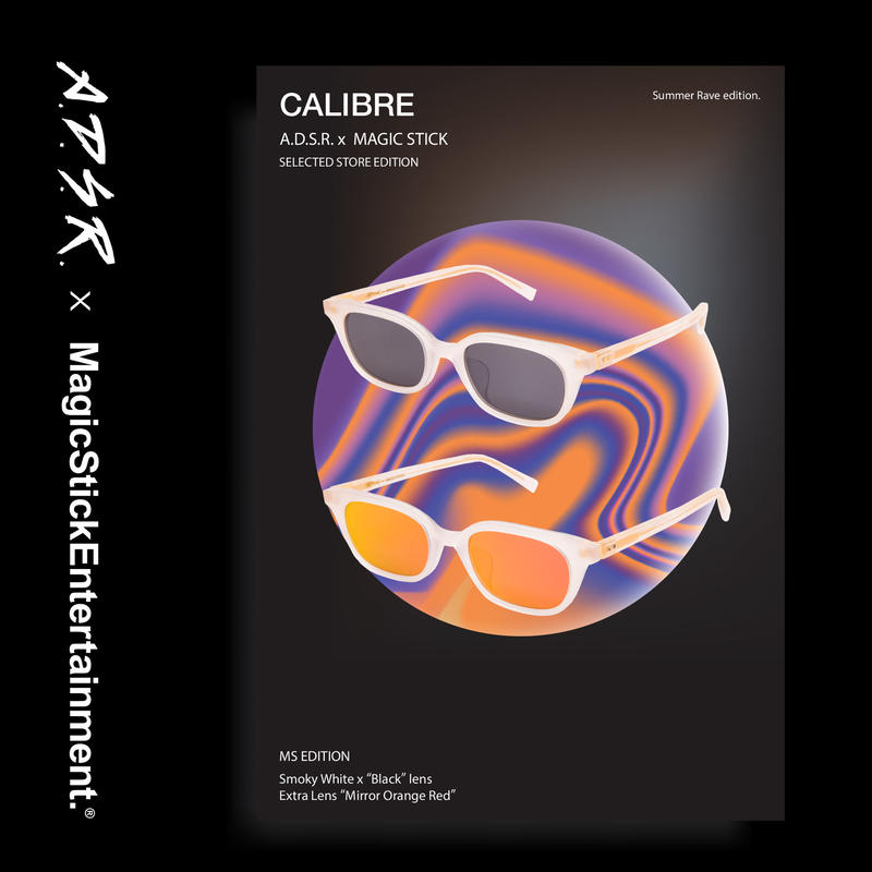 CALIBRE by A.D.S.R. feat,MAGIC STICKSummer Rave edition. ( Smoky White )